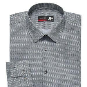 NWT JF J.Ferrar - Slim Mens Stretch Dress Shirt